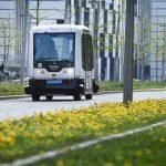 Transport Research Arena (TRA) 2018: Interactive Zone - Demofahrten Digibus © AustriaTech/Zinner