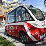 Transport Research Arena (TRA) 2018: Interactive Zone - Demofahrten auto.Bus © AustriaTech/Zinner