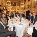 Transport Research Arena (TRA) 2018: Gala Dinner in Vienna City Hall ©AustriaTech/Zinner